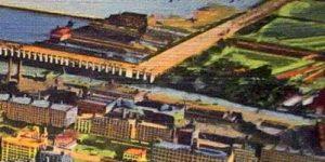Northwestern University postcard